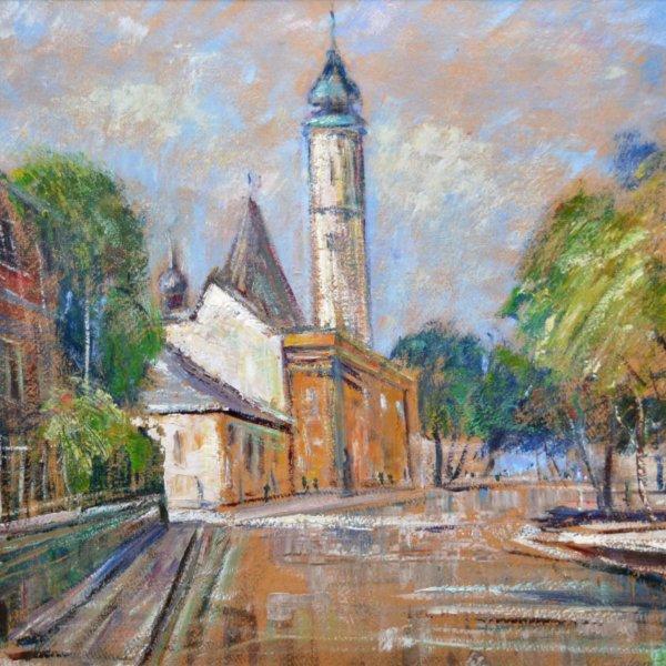 Karl Josef Gunsam, Gemälde, Grinzing