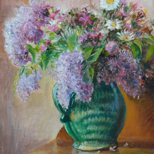 Adolf Helmberger, Gemälde, Blumenstillleben