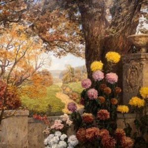 Marcel Kammerer, Gemälde, Ein warmer Herbsttag