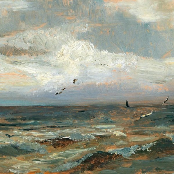 Olga Wisinger-Florian, An der Nordsee