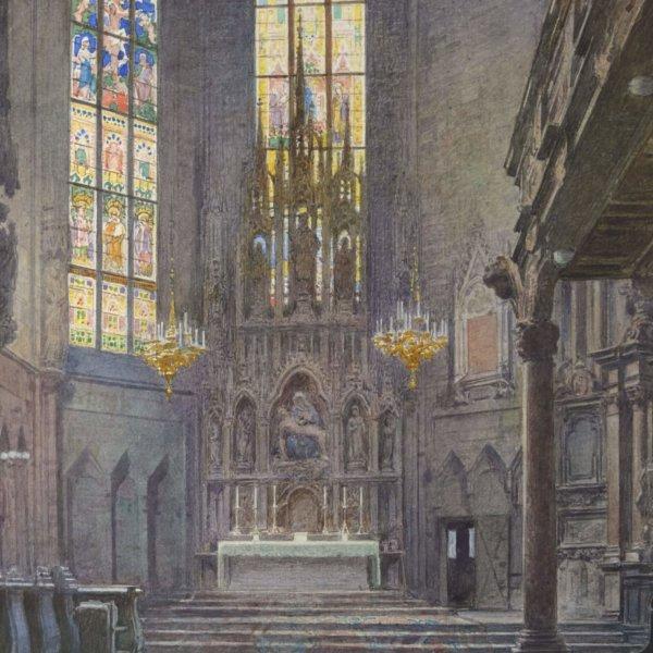 Ernst Graner, Im Stephansdom