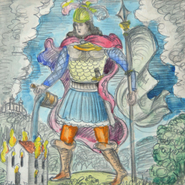 Franz von Zülow, Heiliger Florian