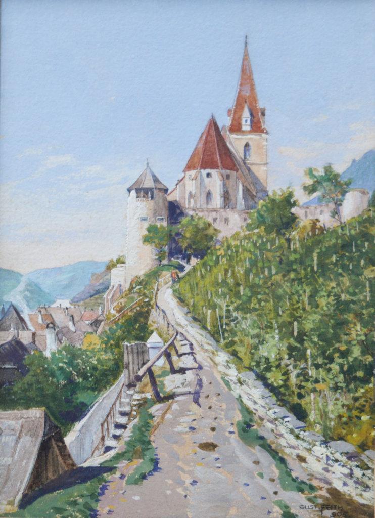 Gustav Feith, Weissenkirchen in der Wachau