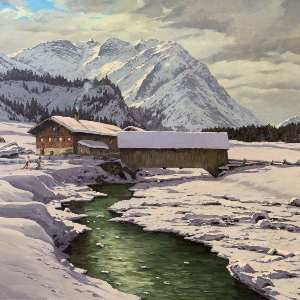 Hans Figura, Winter in Tirol
