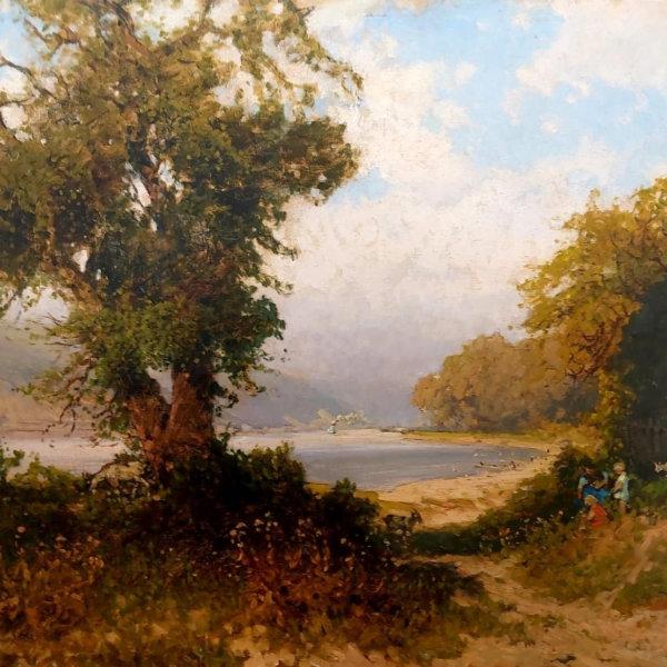 Heinrich Tomec, Bucht von Weissenkirchen