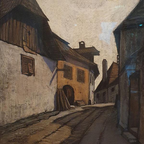 Josef Stoitzner, Weissenkirchen auf der Burg