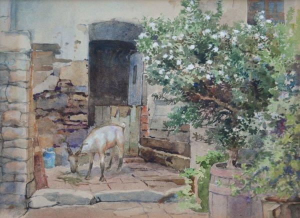 Marie Egner, Blühender Baum