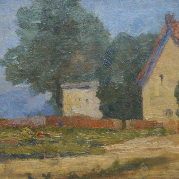 Marie Egner, Haus im Grünen