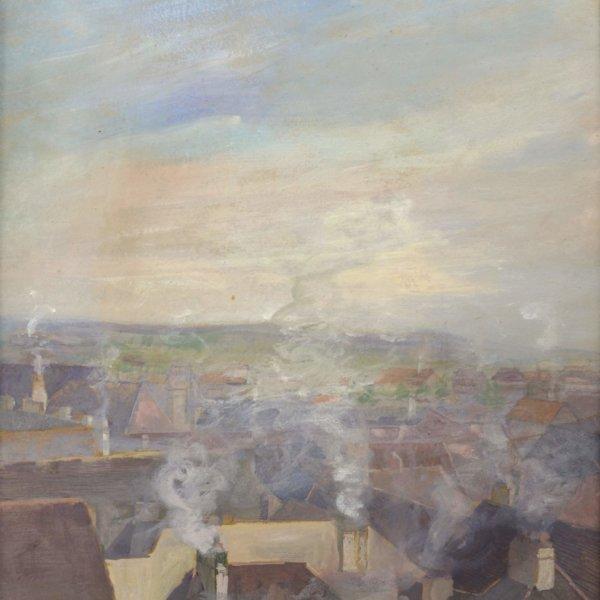 Marie Egner, Über den Dächern