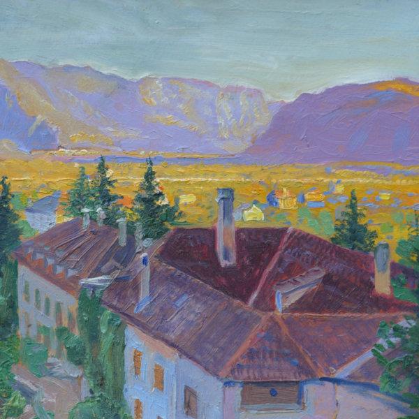 Otto Friedrich, Über den Dächern