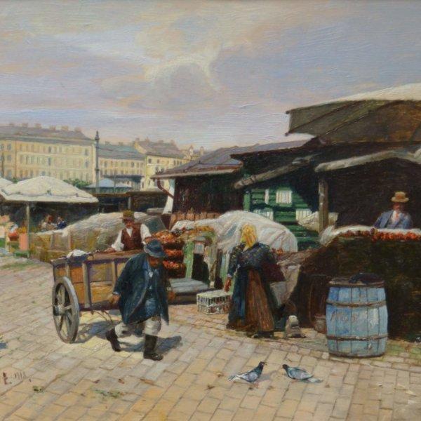 Paul Unbereit, Am Naschmarkt