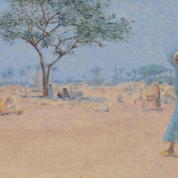 Alphons Leopold Mielich, Merg bei Cairo