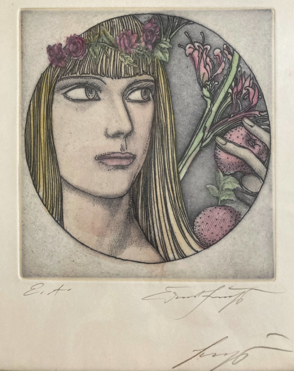 Ernst Fuchs, Sechzehn und Eins, Signatur