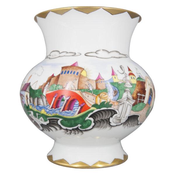 Franz von Zülow, Große Vase