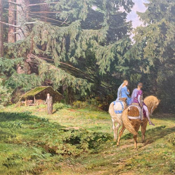 Leopold Rothaug, Prinz und Prinzessin