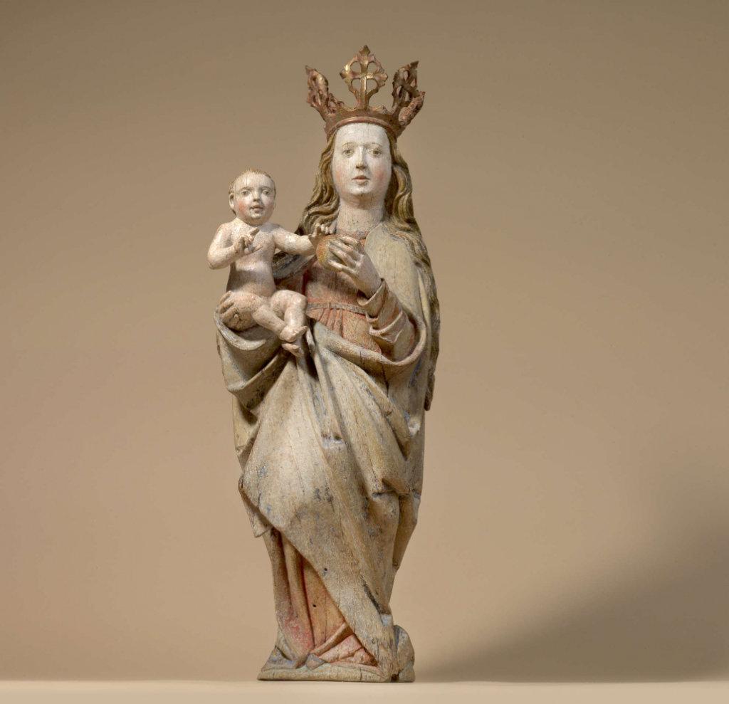 Madonna, Skulptur um 1480