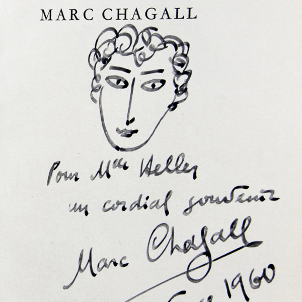 Marc Chagall, Portrait