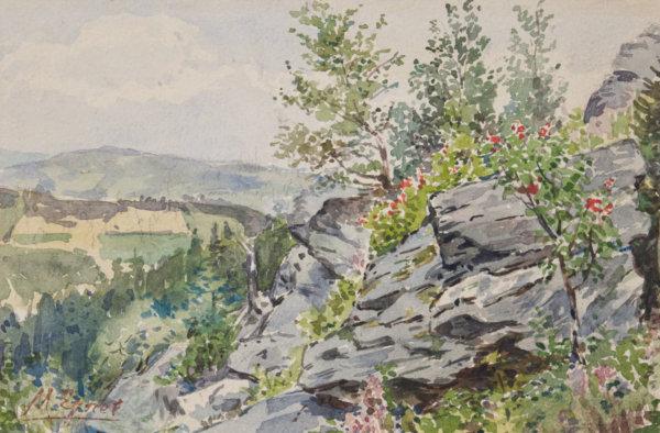 Marie Egner, Blühende Landschaft