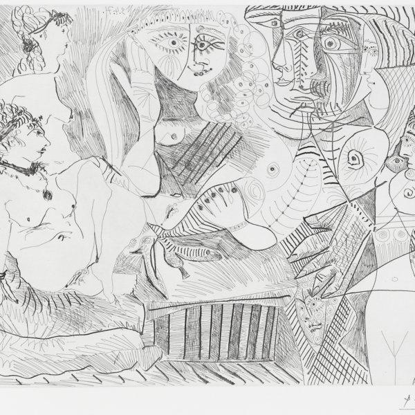 Pablo Picasso, Frauenakte