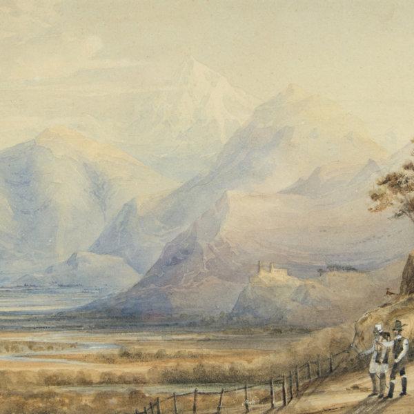 Thomas Ender, Wetterstein beim Grindelwald