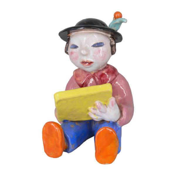 Walter Bosse, Lesender Junge