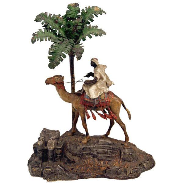 Bergmann Bronze, Arabischer Krieger auf Kamel