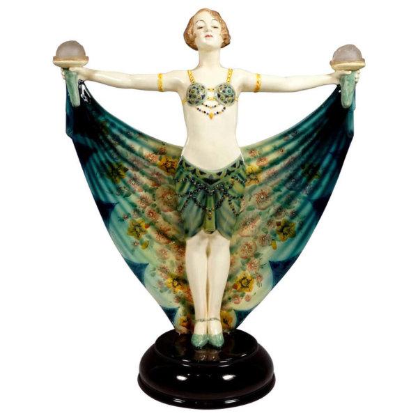 Goldscheider Keramik, Haremstänzerin