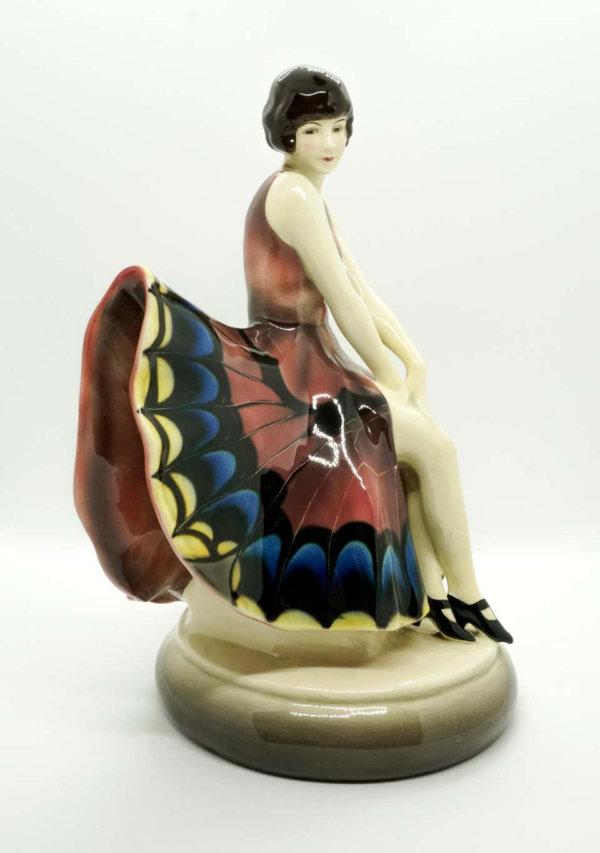 Goldscheider Keramik, Tänzerin im Schmetterlingskleid