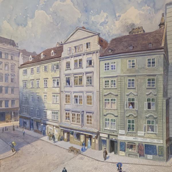 Hans Wilt, Wien Vedute