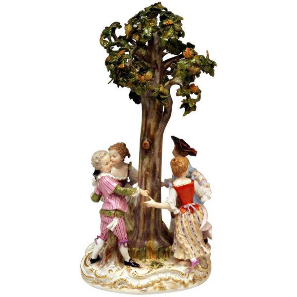 Meissen Porzellan, Der Reigen unter dem Baum