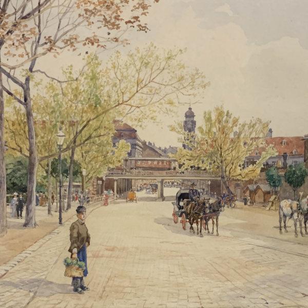 Rudolf Bernt, Wiener Vorstadt