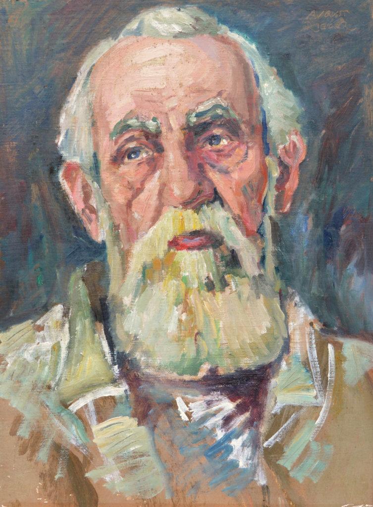 August Rieger, Portrait Carl Moll