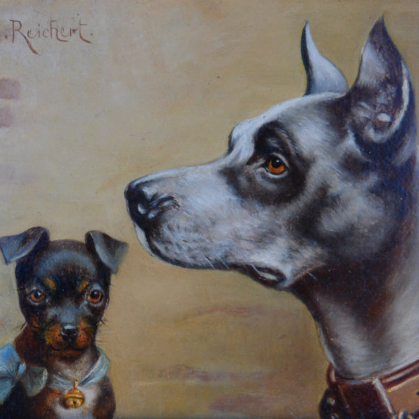 Carl Reichert, Dogge und Terrier