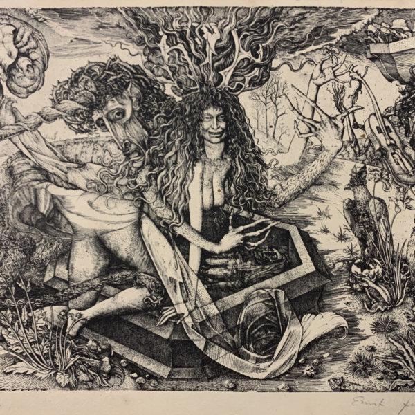 Ernst Fuchs, Die Passion des Einhorns