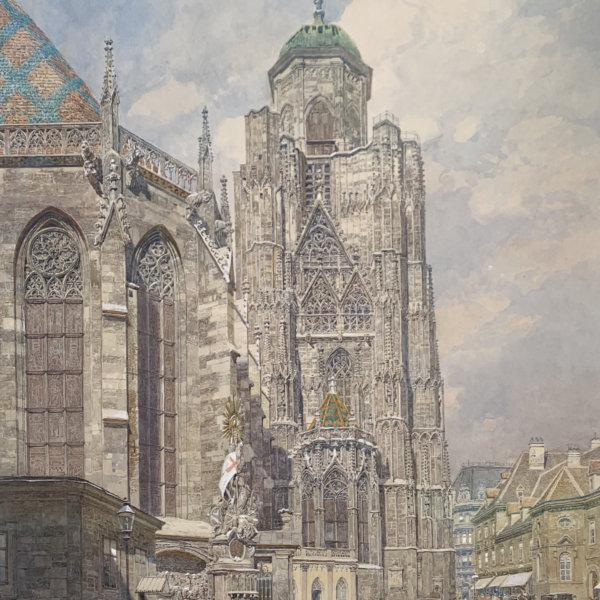 Franz Kopallik, Nordturm des Stephansdoms