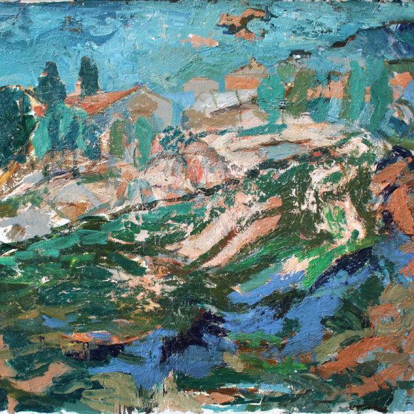 Gustav Hessing, Expressive Landschaft