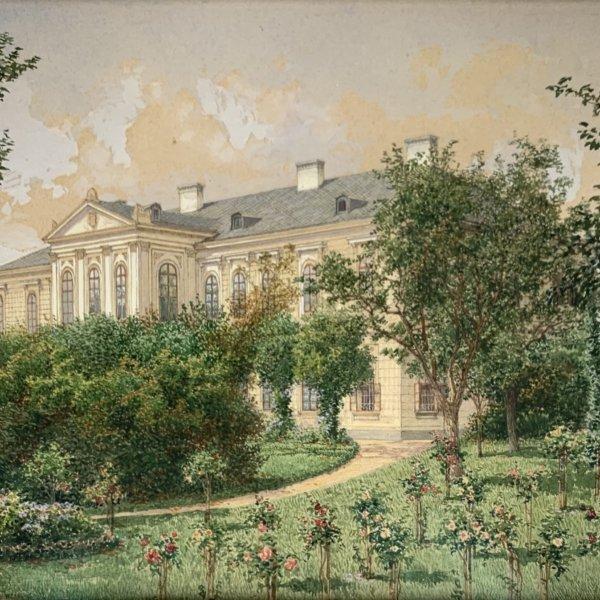 Richard Moser, Schloss Bohdalitz
