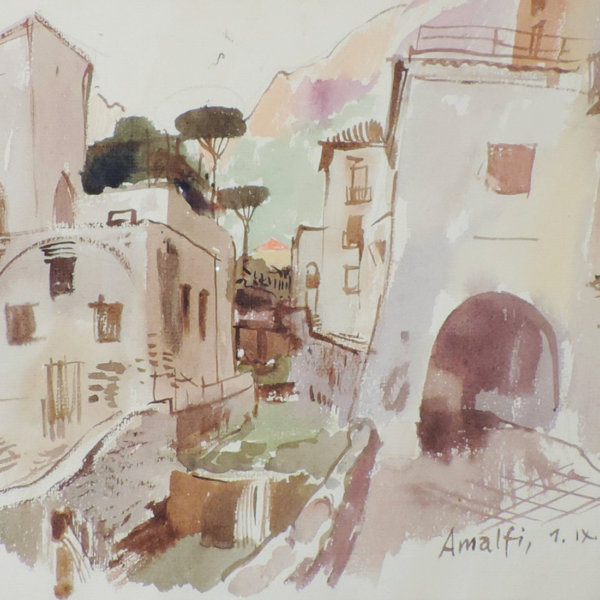 Ernst Schrom, Amalfi