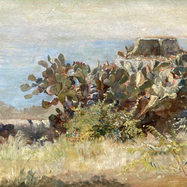 Marie Egner, Kakteen auf Korfu