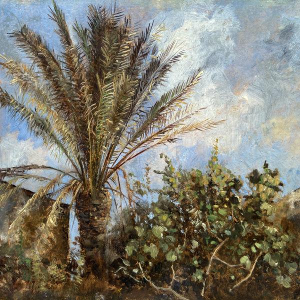 Marie Egner, Palmen im Frühling
