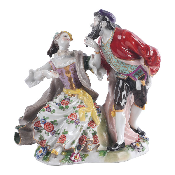 Figurengruppe - Porzellan, 19. Jahrhundert