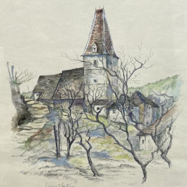 Siegfried Stoitzner, Motiv aus der Wachau