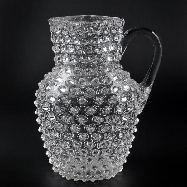 Warzenkrug aus Glas