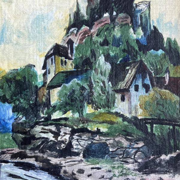 Ernst Huber, Häuser im Grünen