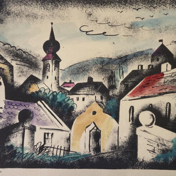 Franz von Zülow, Dorf