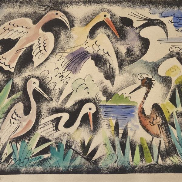 Franz von Zülow, Vögel