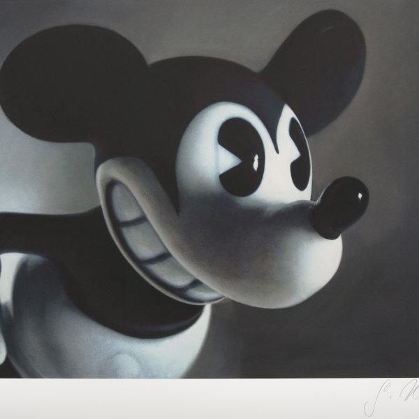 Gottfried Helnwein, Mickey Mouse