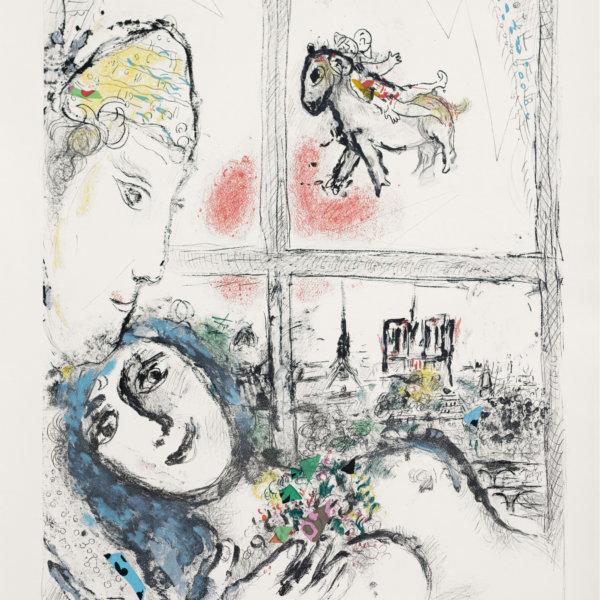 Marc Chagall, Paris de la Fenetre