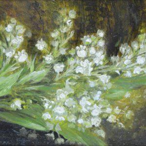 Marie Egner Gemälde, Maiglöckchen Strauss